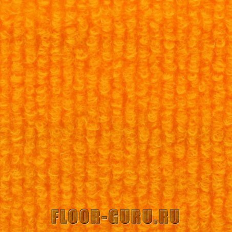 Выставочный ковролин Expoline 9347 Mandarine Ярко-оранжевый