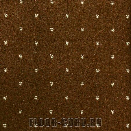 Ковротекс София 0017 коричневый