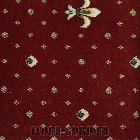 Ковротекс Лилия 01-3011 красный