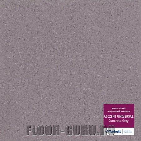 Линолеум противоскользящий Tarkett Acczent Universal Concrete Grey