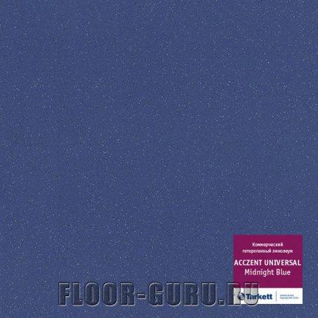 Линолеум противоскользящий Tarkett Acczent Universal Midnight Blue