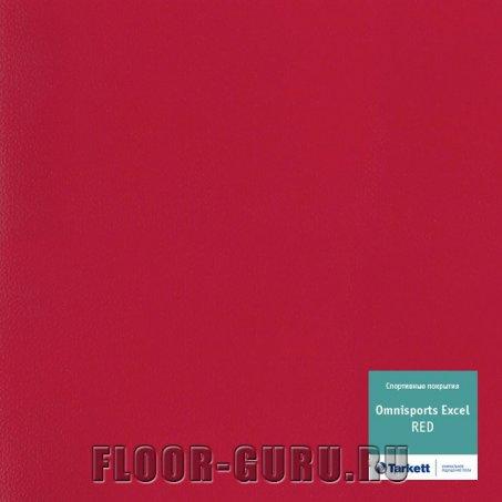 Tarkett Omnisports Excel Red