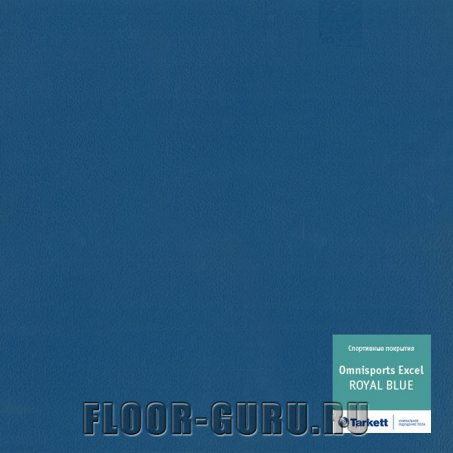 Tarkett Omnisports Excel Royal Blue