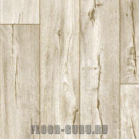 Полукоммерческий линолеум Ideal Ultra Cracked Oak 016L - светлый