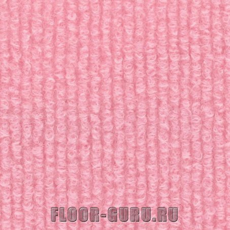 Выставочный ковролин Expoline 1252 Japanese Rose Бледно-розовый
