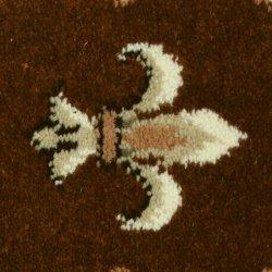Ковролин Ковротекс Лилия 01-0017 коричневый
