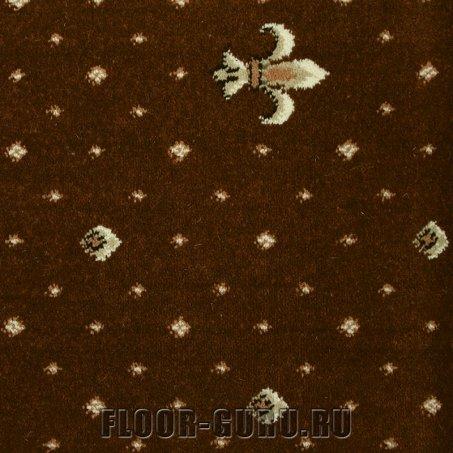Ковротекс Лилия 01-0017 коричневый