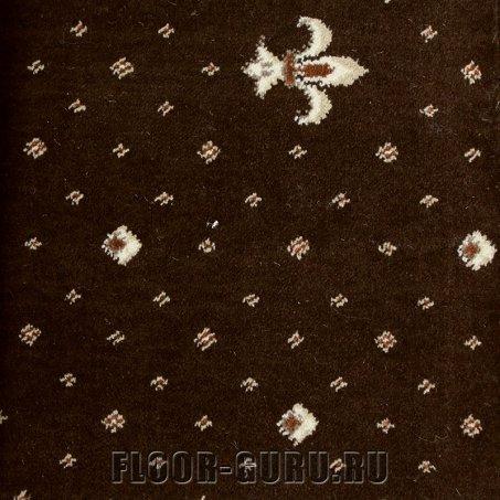 Ковротекс Лилия 01-0024 темно-коричневый