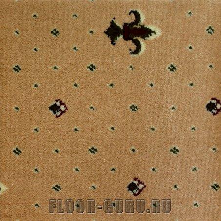 Ковротекс Лилия 01-1001 бежевый