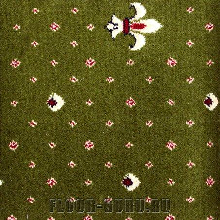 Ковротекс Лилия 01-6003 зеленый