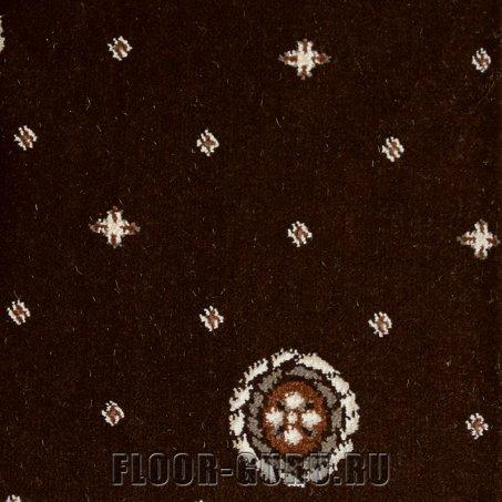 Ковротекс Медальон 02-0024 темно-коричневый