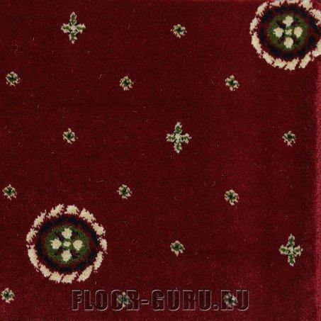 Ковротекс Медальон 02-3011 красный