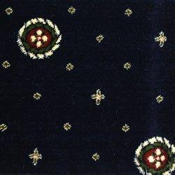 Ковролин Ковротекс Медальон 02-5011 синий