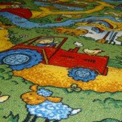 Детский ковролин Каникулы - цветной