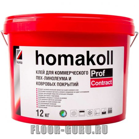 Клей Homakoll Prof Contract