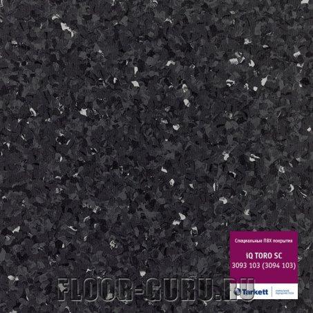 Коммерческий гомогенный линолеум Tarkett iQ TORO SC 103