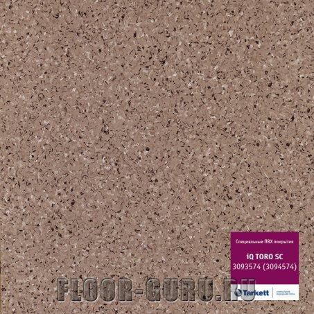 Коммерческий гомогенный линолеум Tarkett iQ TORO SC 574