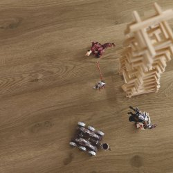 Виниловый пол Pergo Classic plank Optimum Glue V3201-40019 Дуб кофейный