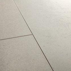 Замковая виниловая плитка Quick-Step Ambient Click AMCL40137 Бетон бежевый