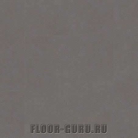 Замковая виниловая плитка Quick-Step Ambient Click AMCL40138 Бетон темно-коричневый