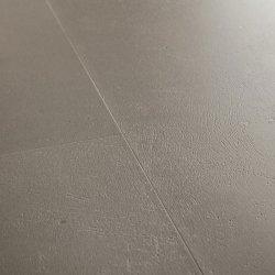 Замковая виниловая плитка Quick-Step Ambient Click AMCL40141 Бетон темно-серый