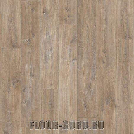 Замковая виниловая плитка Quick-Step Balance Rigid Click 40127 Дуб каньон коричневый