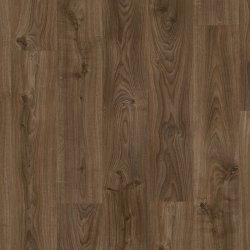 Виниловый пол Quick-Step Balance Click BACL40027 Дуб Коттедж темно-коричневый