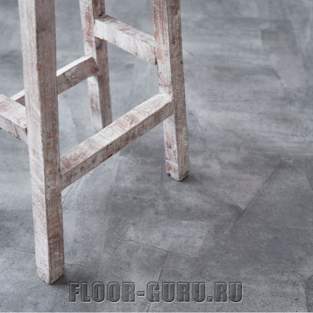 Vinilam Ceramo 61602 Серый Бетон 2,5 мм